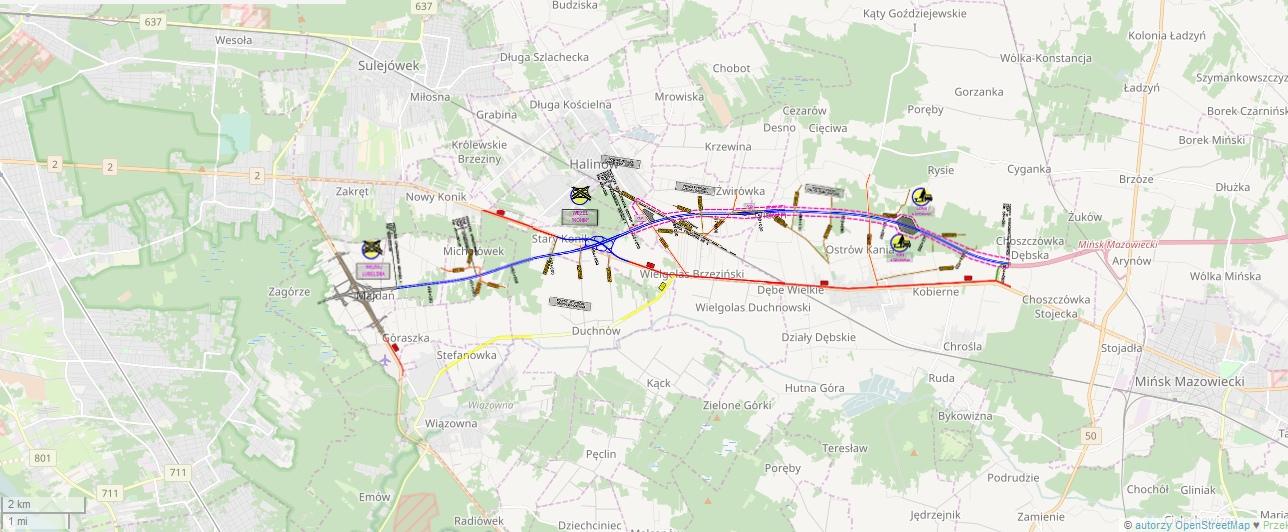 A2 Warszawa Minsk Maz I Wezel Lubelska Na S17 Czynne Od 2020 R