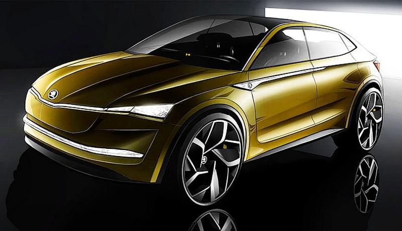 elektryczna skoda vision e w cenie 40 000 euro dopiero w 2020 roku samochody elektryczne www. Black Bedroom Furniture Sets. Home Design Ideas