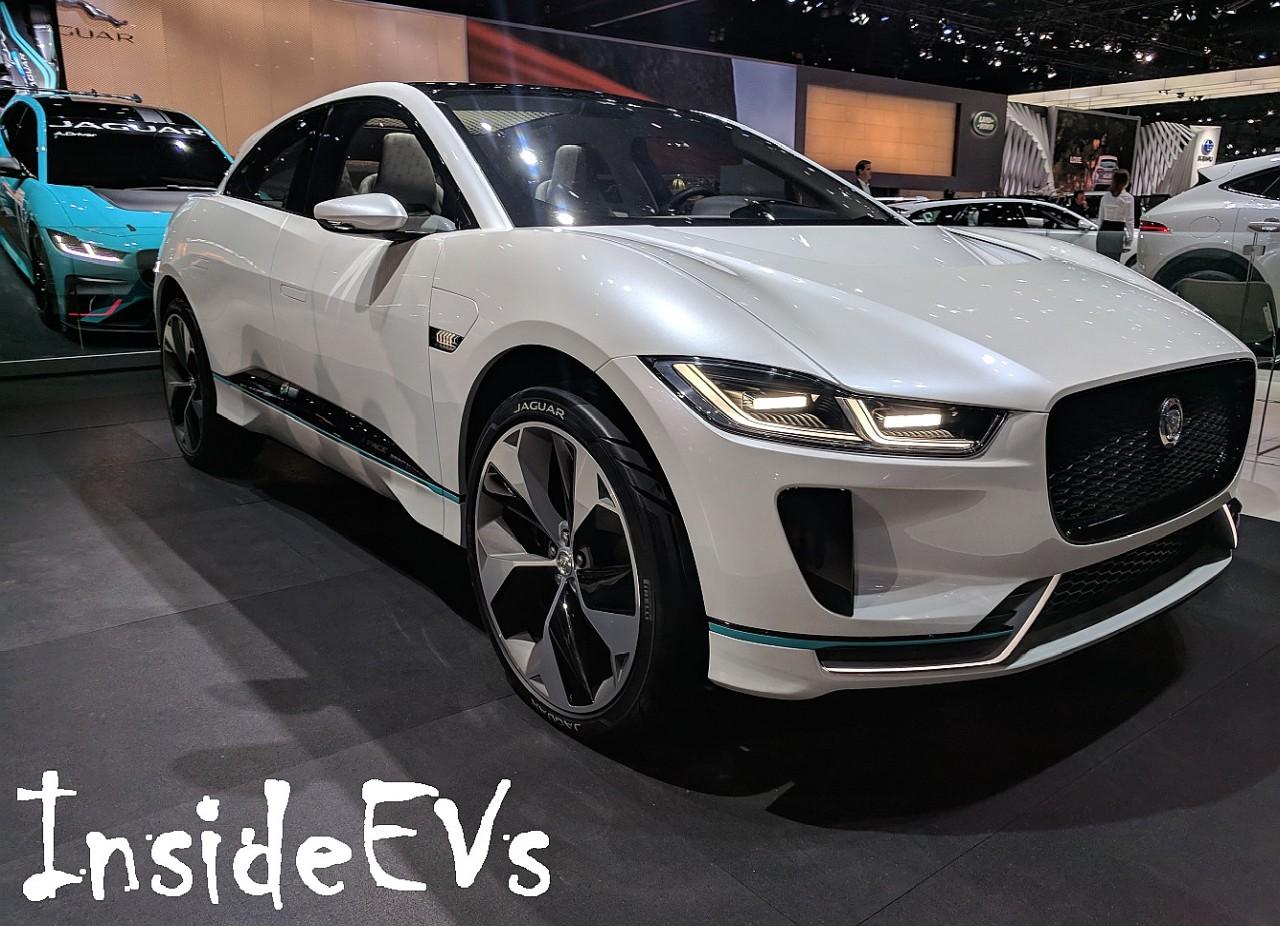 Jaguar I Pace W Ostrej Walce Z Audi E Tron Quattro La