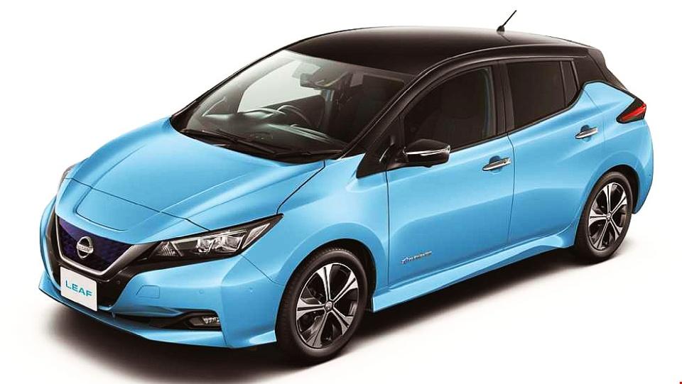 nissan leaf 2018 cena samochody elektryczne. Black Bedroom Furniture Sets. Home Design Ideas