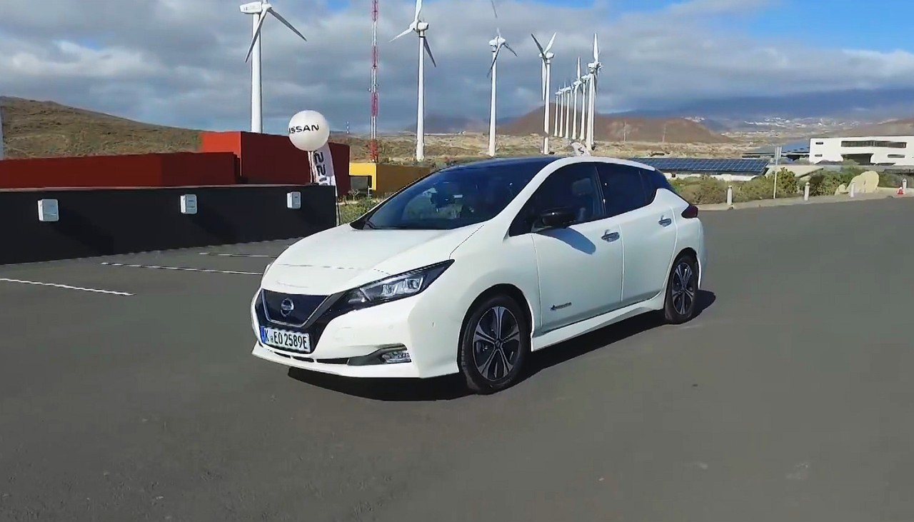 test nissan leaf 2018 w r kach bjorna nylanda youtube. Black Bedroom Furniture Sets. Home Design Ideas