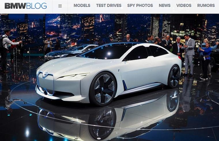 BMW i4 – kolejne oficjalnie potwierdzone elektryczne BMW ...