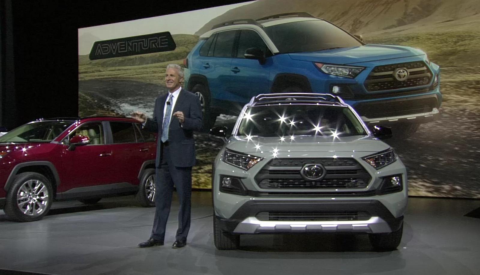 Nowa Toyota RAV4 (2019): hybryda z silnikiem 2.5, wariantu ...
