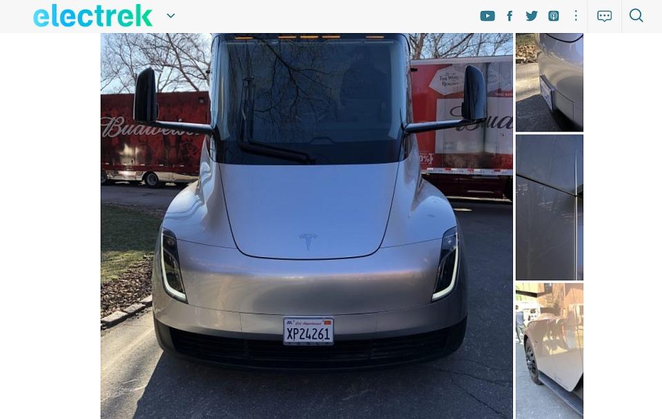 Silniki Tesla Semi z bliska WIDEO, foto - te same, co w ...