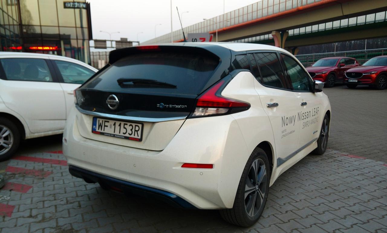 nissan leaf tekna • samochody elektryczne – www.elektrowoz.pl