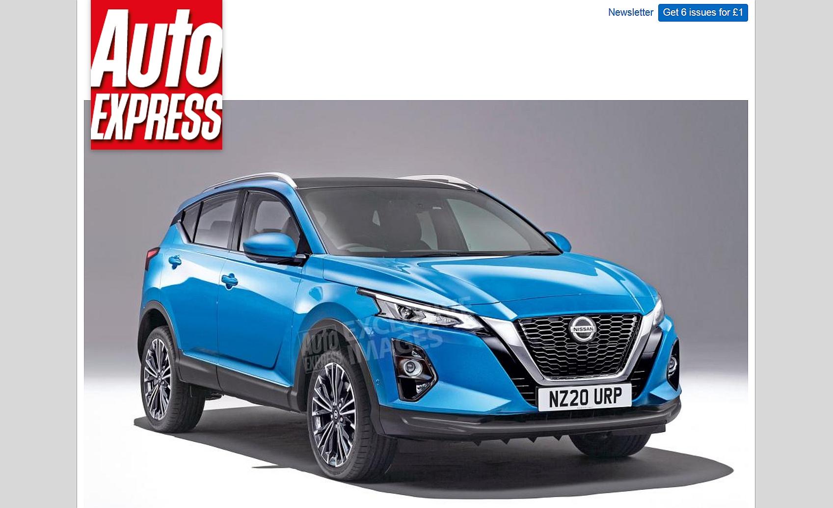 Nowy Nissan Qashqai (2020) jako hybryda plug-in oraz e ...