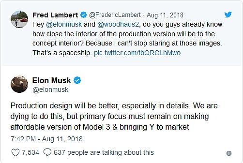 Model Y Twitter: Najtańsza Tesla Model 3 Kosztuje 35 Tysięcy Dolarów I