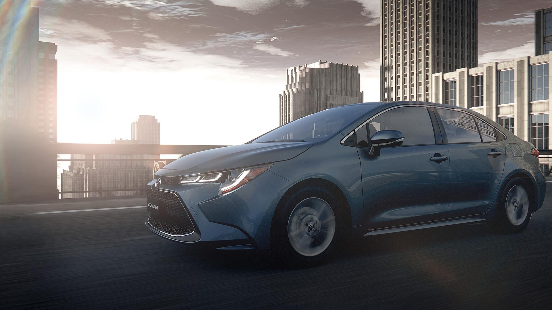 Nowa Toyota Corolla 2019 Z Napędami Hybrydowymi I