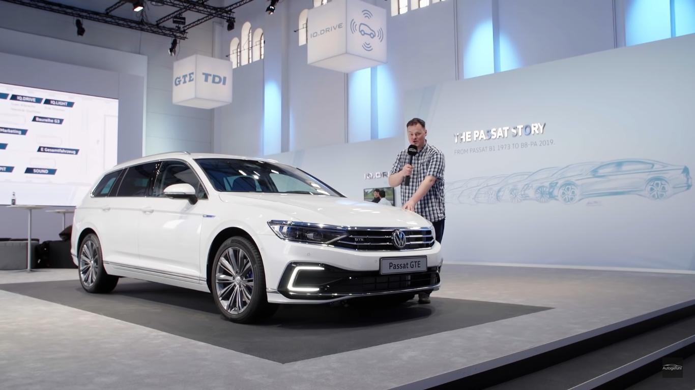 Nowy Volkswagen Passat Gte 2019 Wieksza Bateria Wiekszy Zasieg Odswiezone Nadwozie Samochody Elektryczne Www Elektrowoz Pl