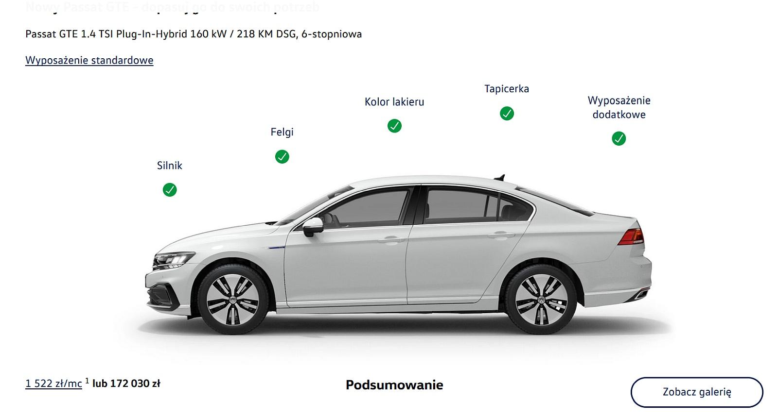 Nowy Volkswagen Passat Gte Cena Od 158 990 Zlotych Z Uwzglednieniem Rabatu Na 11 000 Zl Aktualizacja Samochody Elektryczne Www Elektrowoz Pl