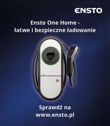 Ensto.pl - łatwe i bezpieczne ładowanie - SPONSOR MIESIĄCA